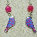 Pink Jade and Damask Bird C..