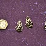 Six Hamsa Charms Symbol of ..